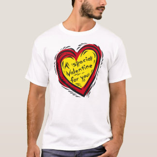 Aspecial valentine for you 1 -- Double Heart T-Shirt