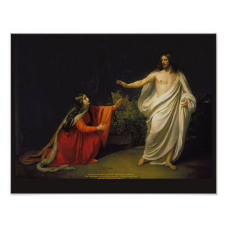 Aspecto de Cristo a Maria Magdalena Impresiones