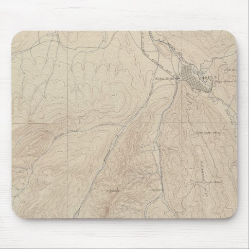 Aspen Atlas Sheet Mouse Pad