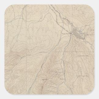 Aspen Atlas Sheet Square Sticker
