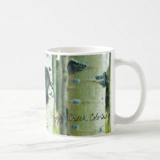 Aspen Bark, Cripple Creek, Colorado Classic White Coffee Mug