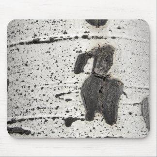 Aspen Bark Photograph Mouse Pad