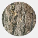 Aspen bark stickers