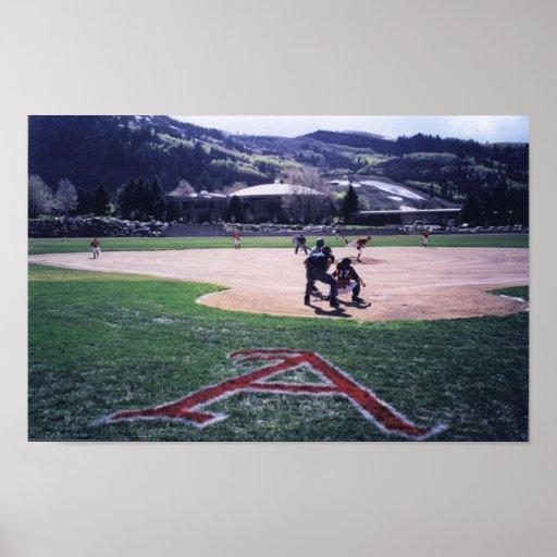 Aspen Baseball Poster
