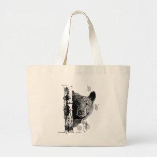 Aspen Bear Tote Bags