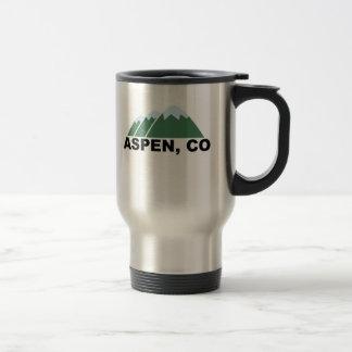 Aspen Colorado 15 Oz Stainless Steel Travel Mug