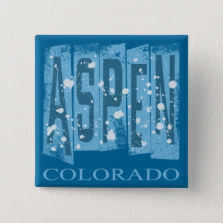 ASPEN, COLORADO BUTTON