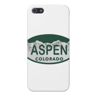 Aspen Colorado license plate Cases For iPhone 5