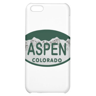 Aspen Colorado license plate Case For iPhone 5C
