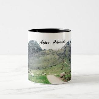 Aspen, Colorado Two-Tone Coffee Mug