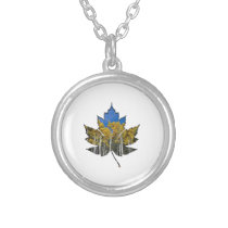 Aspen Falls Silver Plated Necklace