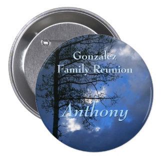 Aspen Family Reunion Name Badge Button