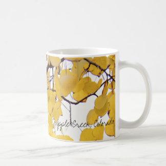 Aspen Foliage, Cripple Creek, Colorado Coffee Mug