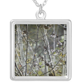 Aspen Forest Silver Plated Necklace