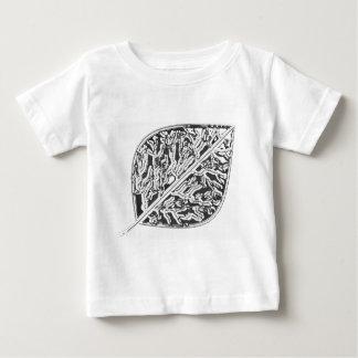 Aspen Frost Leaf Baby T-Shirt