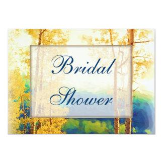 Aspen Glow Bridal Shower Card