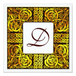 Aspen Gold Celtic Wedding Invitation