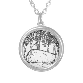 Aspen Grove Silver Plated Necklace