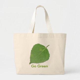 Aspen Leaf EcoBag Large Tote Bag