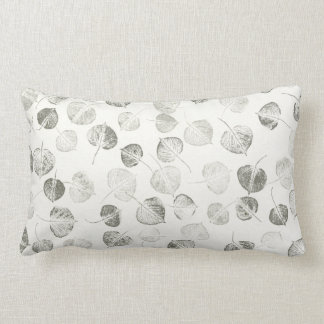 Aspen Leaf Pattern Pillows