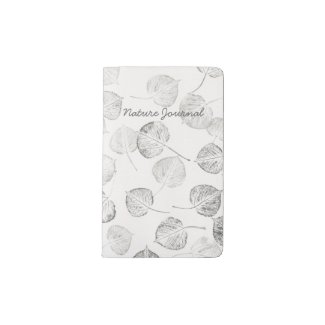 Aspen Leaf Print Nature Journal