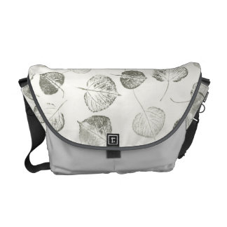 Aspen Leaf Prints Courier Bag