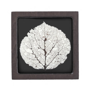 Aspen Leaf Skeleton 1 Gift Box