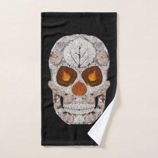 Aspen Leaf Skull 11 Bath Towel Set