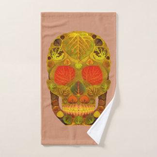 Aspen Leaf Skull 12 Bath Towel Set