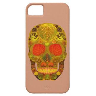 Aspen Leaf Skull 12 iPhone SE/5/5s Case