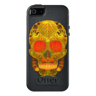 Aspen Leaf Skull 12 OtterBox iPhone 5/5s/SE Case