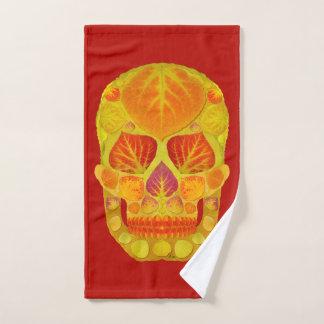 Aspen Leaf Skull 13 Bath Towel Set