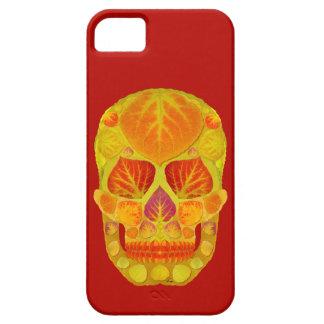 Aspen Leaf Skull 13 iPhone SE/5/5s Case