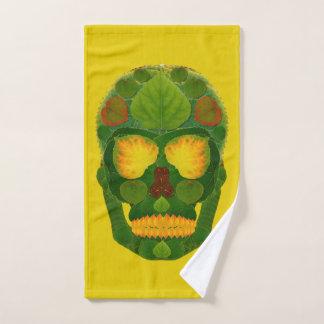 Aspen Leaf Skull 9 Bath Towel Set
