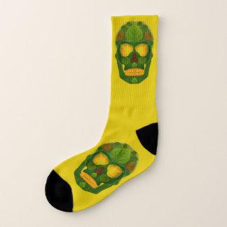Aspen Leaf Skull 9 Socks