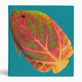 Aspen Leaf Tropical Fish 1 Binder