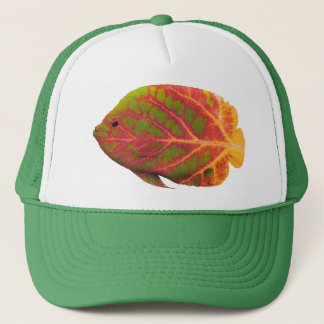 Aspen Leaf Tropical Fish 1 Trucker Hat