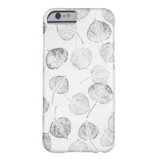 Aspen Leaves Black and White