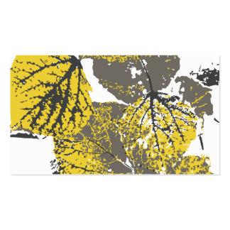 aspen leaves business card