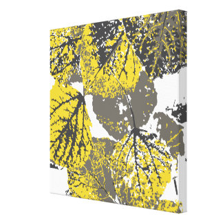 aspen leaves canvas print