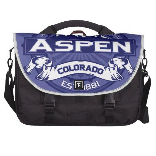 Aspen Logo Midnight Bags For Laptop