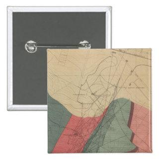 Aspen Mountain Sheet Pinback Button