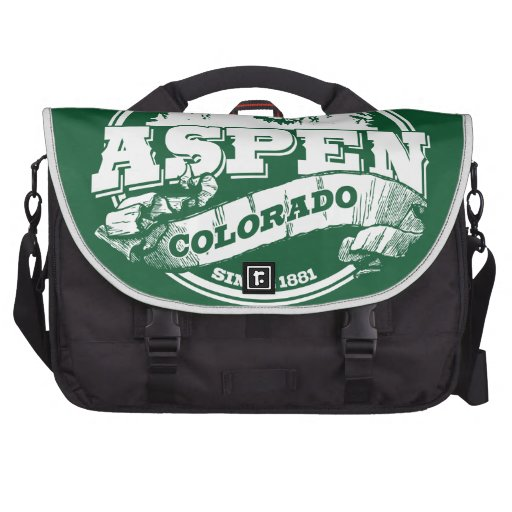 Aspen Old Circle Green Bags For Laptop