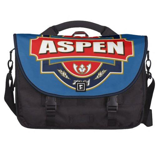 Aspen Old Label Laptop Messenger Bag