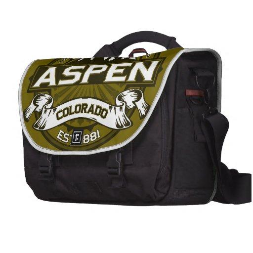 Aspen Olive Laptop Commuter Bag