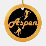 Aspen Ornamentos De Navidad