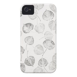 Aspen Pattern in Black and White Case-Mate iPhone 4 Cases