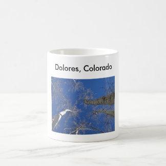 Aspen Sky, Dolores, Colorado Classic White Coffee Mug