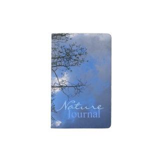 Aspen Sky Nature Journal Pocket Moleskine Notebook Cover With Notebook
