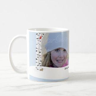 Aspen Snow Holiday Photo Mug
